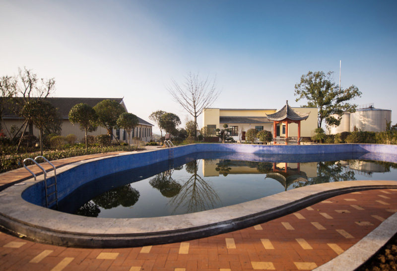 厂区露天游泳池
