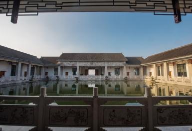 亿博国际备用四合院景观